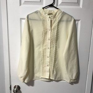 Vintage Tara One Collectables Lace Blouse Size 12